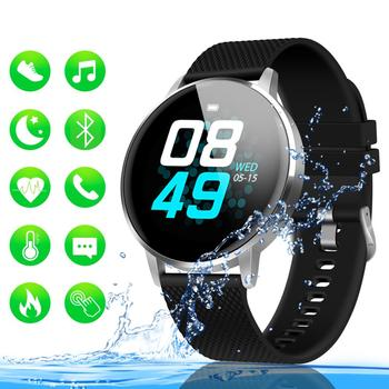 GOOJODOQ Smart Bracelet Band With Heart rate Monitor ECG Blood Pressure IP68 Fitness Tracker Wrisatband Smart Watch