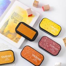 Нетоксичный 12 цветов штамп уплотнение украшения чернил pad многофункциональный DIY Скрапбукинг хороший подарок старинные ремесла аксессуары для офиса