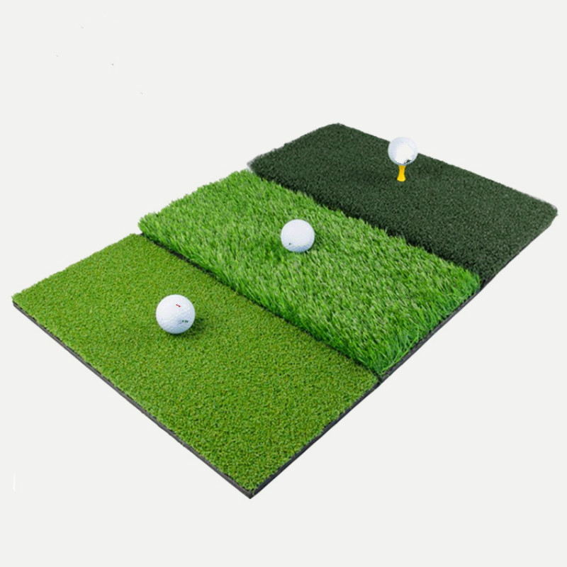 Golf Practice Mat Three Kinds Of Grass Foldable And Portable Design