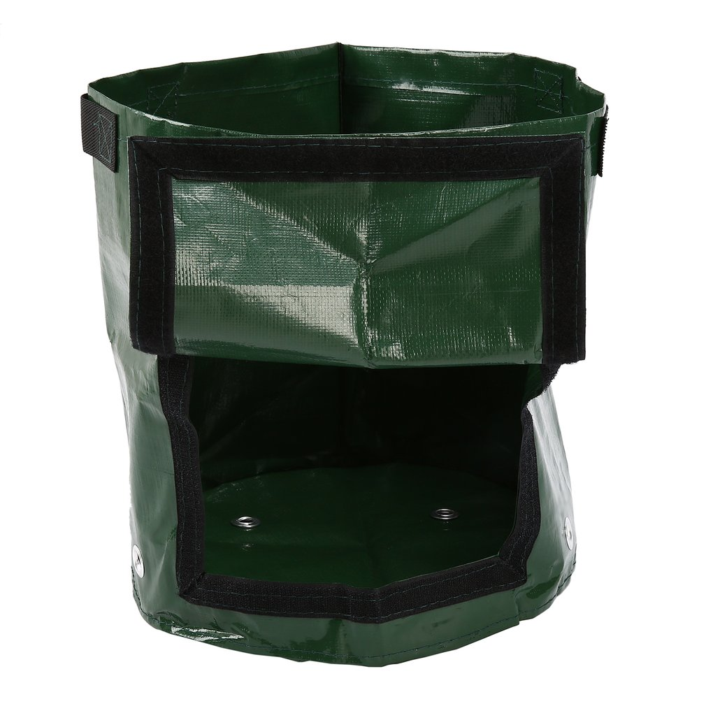 DIY 1pc Cultivation Planting Container Bag Plant Grow Bag  Potato Grow Planter Vegetable Growing  Thicken Garden Pot For Home
