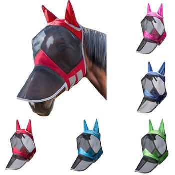 Máscara Respirable De Malla Para Protección Facial Completa De Caballo, Anti-mosquito, Con Cubierta Nasal, Protección Facial De Caballo, Máscara De Malla Con Cubierta Nasal