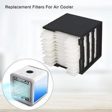 Mini Air Conditioner Filter Air Replacement Filter USB Cooler Humidifier Filte For Personal Space Cooler Air Conditioner Fan