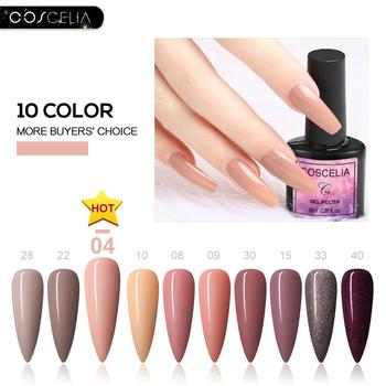 COSCELIA 6/8/10pc/set Gel Nail Polish Set Nail Art Set For Gel Varnish 40 Colors For Nail Art Manicure Set Nail Kit For Manicure 1