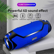 Bluetooth Speakers Computer Music-Center-Radio Boom-Box Stereo Subwoofer High-Power Portable