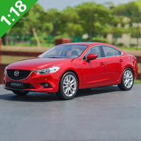 High quality 1:18 Mazda 6 ATENZA alloy model,simulation of die cast metal advanced collection, exquisite gifts,free shipping