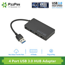 PzzPss High Speed USB 3.0 HUB Multi USB Splitter 4 Ports Expander Multiple USB Expander Computer Accessories For Laptop PC