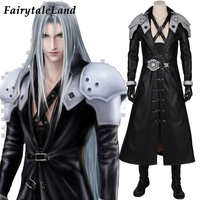 Final Fantasy 7 Remake Sephiroth Cosplay Costume Halloween Video Game Adult Costumes Sephiroth Outfit Custom Made