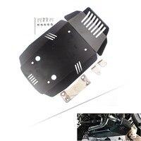 Защита двигателя противоскользящая пластина протектор для BMW R Nine T & Scrambler & Pure 2013 2014 2015 2016 2017 черный