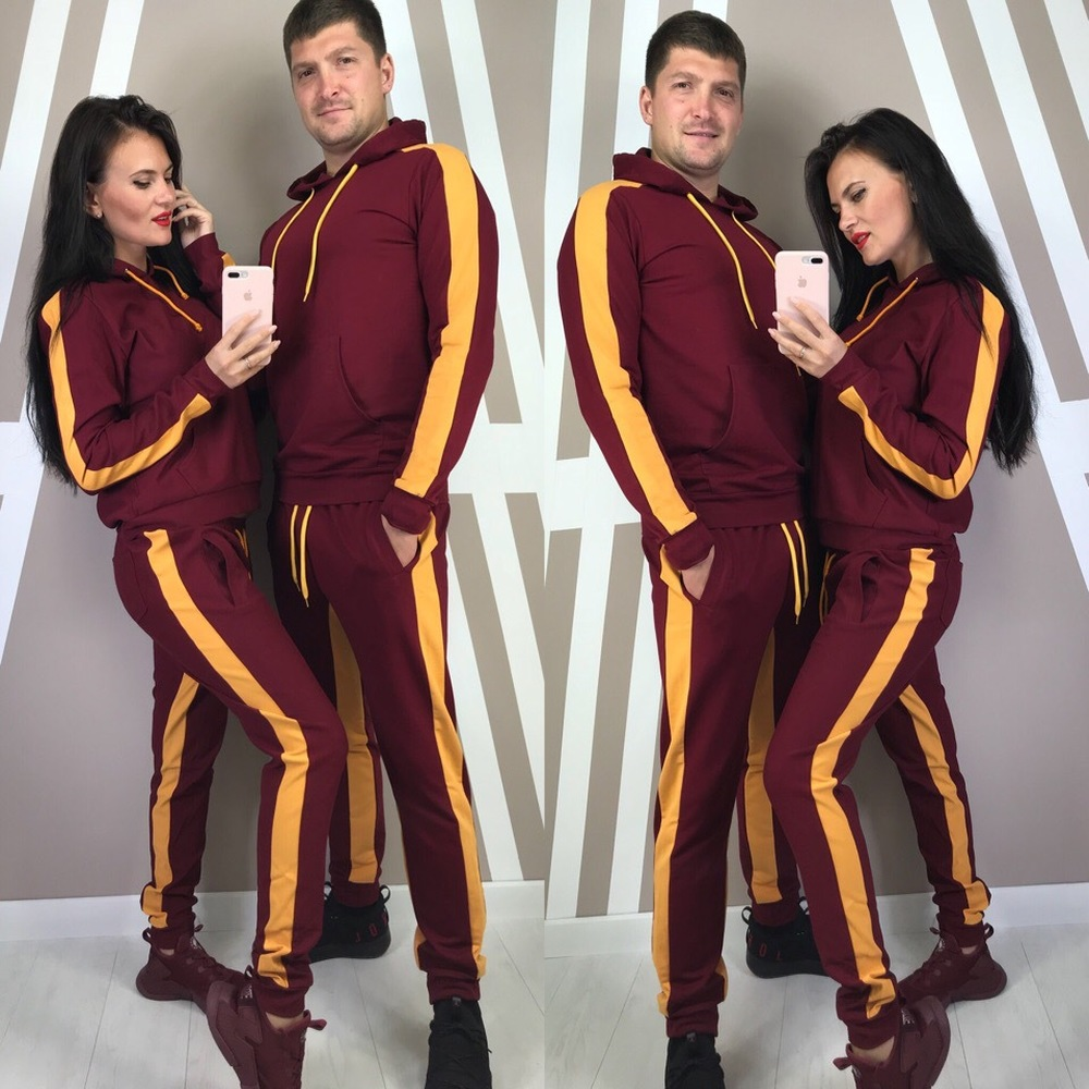 ZOGAA Women And Men's Tracksuits Hoodies+Sweatpants 2 Piece Sports Suit Large Size Couple Sportswear Suit Casual One Suits