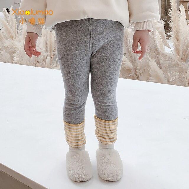 Фото детские леггинсы xiaolumao зимние утепленные флисовые детские цена