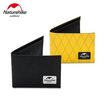 Naturehike portfel męski torba krótkie portfele XPAC wodoodporna portmonetka na zamek błyskawiczny małe portmonetki Outdoor Travel Clutch klip na pieniądze tanie i dobre opinie CN (pochodzenie) Mniej niż 20l XPAC Fabric