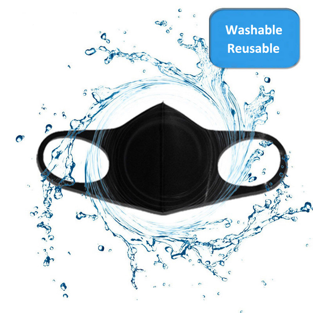 3pcs 12pcs Anti Dust Mask PM2.5 Mouth Cover Reusable Breathable Dustproof Face Muffle for Men Women Adult Child Kids Respirator 2
