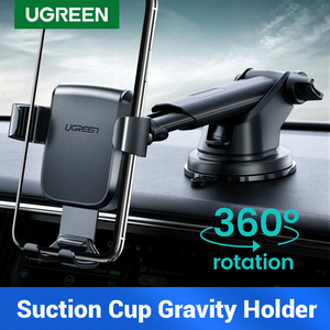 UGREEN Car Phone Holder No Magnetic Gravity Stand in the Car Suction Cup Support Holder for Your Mobile Phone Xiaomi iPhone X 11