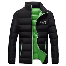 2020 high-quality men's casual hooded jacket, new winter men's cotton coat brand men's clothing