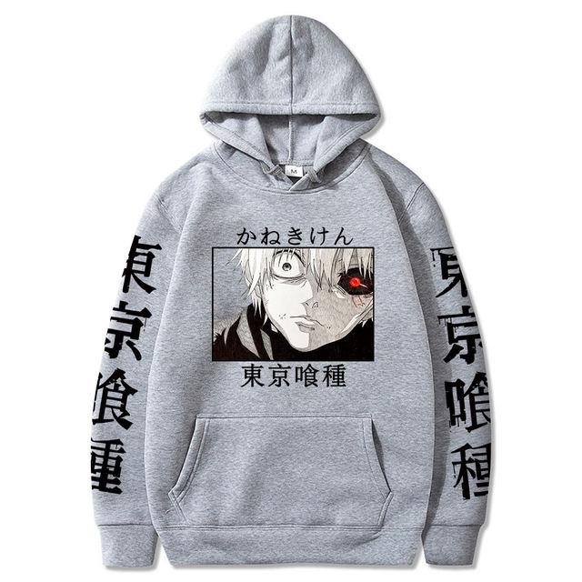KEN KANEKI TOKYO GHOUL THEMED HOODIE (13 VARIAN)