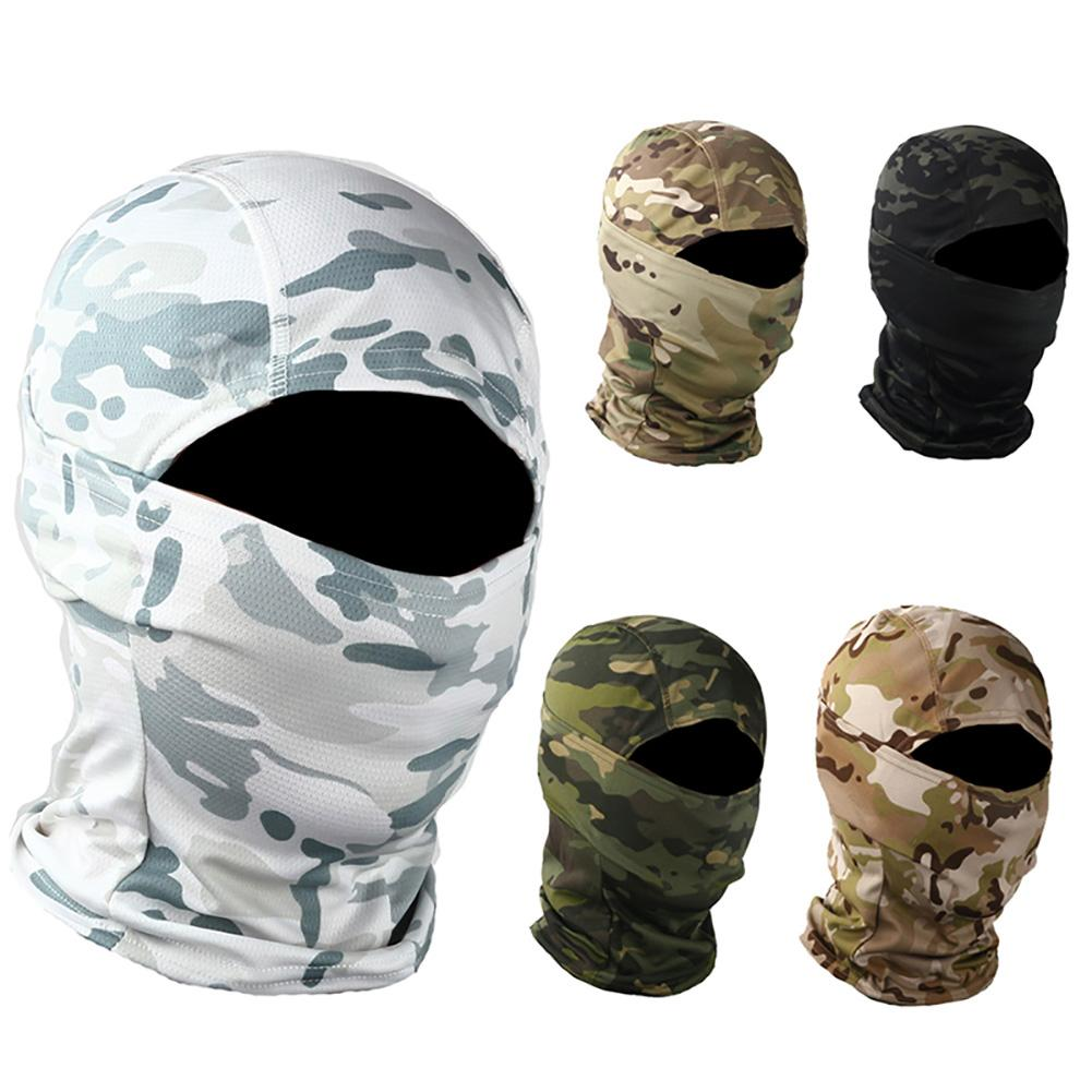 Camouflage Outdoor Cycling Hunting Hood Protection Balaclava Head Face Cover(China)