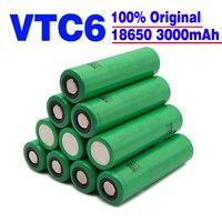 Batteria VTC6 18650 3000mAh 3.7V 30A batterie ricaricabili 18650 ad alta scarica per US18650VTC6 batteria per strumenti torcia