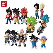 BANDAI Collection de figurines Gokou Kakarotto Bejita Gogeta Nappa Turles Android, No.17 18 Goten boten Broly