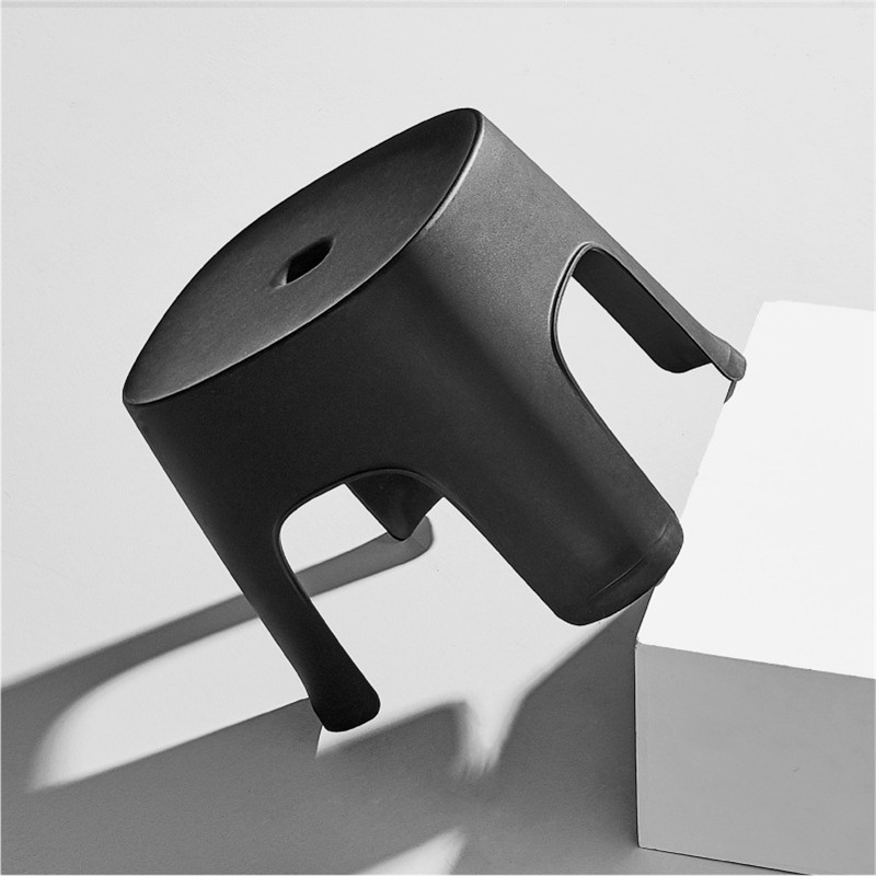 Strong 6 Colors Thicken Plain Children Stools Living Room Non-slip Bath Bench Child Stool Changing Shoe Stool Children Furniture 4