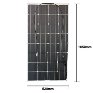 Image 5 - 12v flexible solar panel kit 100w 200w 300w solar panels with solar controller for boat car RV and battery charger