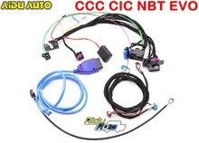 Werkzeuge Verdrahtungen harness mit CAS Emulator tester Für BMW CCC CIC NBT EVO navigation systeme power auf bank alle in ein