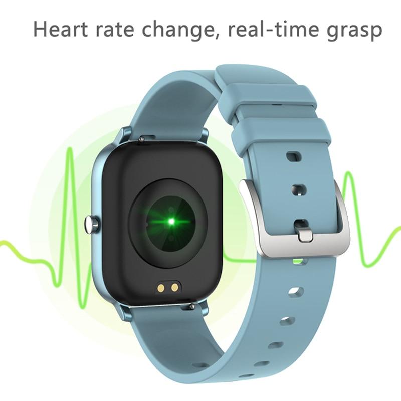 cheapest P8 Smart Watch Men Women IP67 Waterproof Fitness Tracker Sport Heart Rate Monitor Full Touch Smartwatch for Amazfit Gts Xiaomi