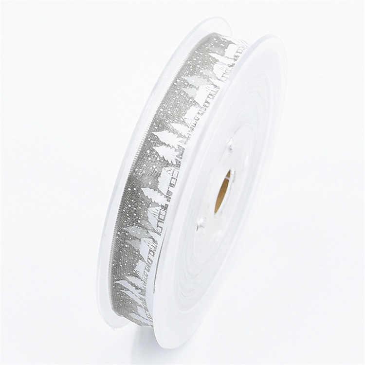 20 מטרים 15mm אורגנזה בד מודפסת Trim עבור מתנת אריזה רקמה מלאכת Decarotions Handcraft DIY קשת בית