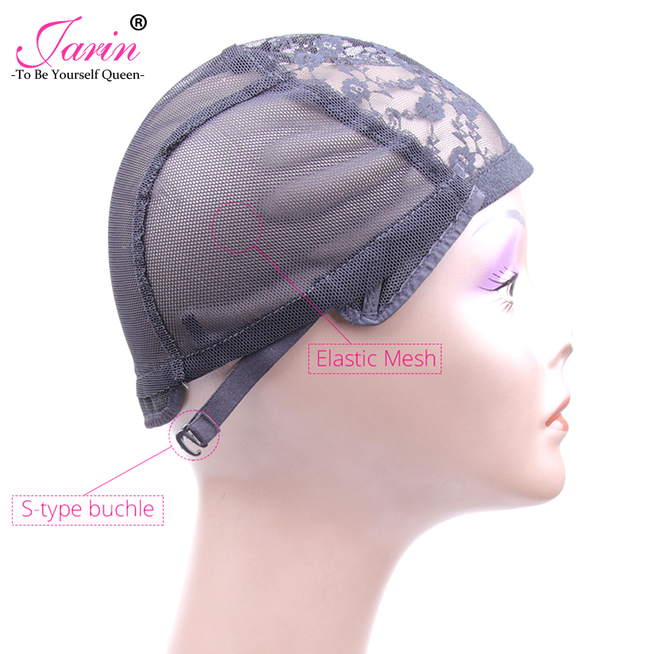 Best M Size Adjustable Weaving Cap For Wig Making, Double Layer Lace Wig  Caps For Sale, Black Hairnet Nylon Wig Cap 20 Pcs/Lot