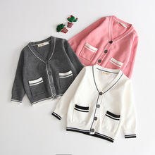 2020 Korean High Quality Brand Baby Boy Girl Clothes Long Sleeve Cotton Pocket