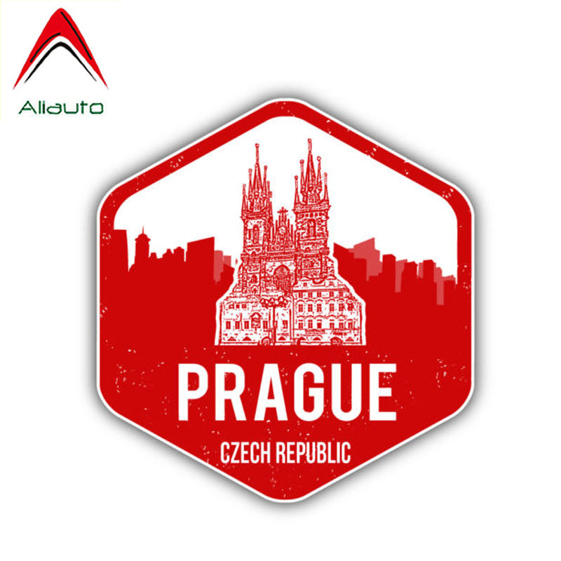 Sticker Czech Republic Resin Domed Stickers Czech Republic Flag 3D Adhesive