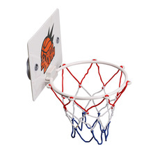 Adjustable Indoor Hanging Basketball Box Durable Portable Mini Board Set for Kids Sucker Home Childrens  Hoop