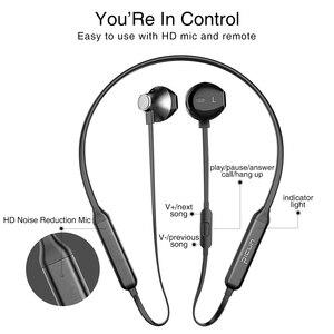Image 5 - سماعة رأس لاسلكية Picun H12 مزودة بتقنية البلوتوث سماعة رأس مغناطيسية مزودة بشريط حول الرقبة سماعات رياضية 20 ساعة لتشغيل أجهزة iPhone شاومي