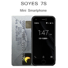 Original SOYES 7S Super Mini Smart Phone Android Mobile