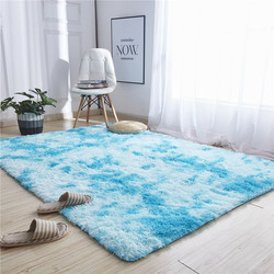 Carpet Tie Dyeing Plush Soft Carpets For Living Room Bedroom Modern Anti-slip Floor Mats Bedroom Water Absorption Carpet Rugs