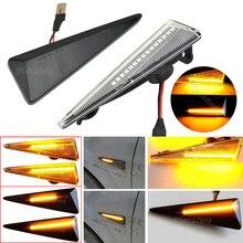 2Pcs דינמי מהדר מנורות LED צד מרקר אור עבור רנו מגאן 2 CC/Vel Satis/רוח/avantime/גרנד סניק 2/Espace 4/תאליה