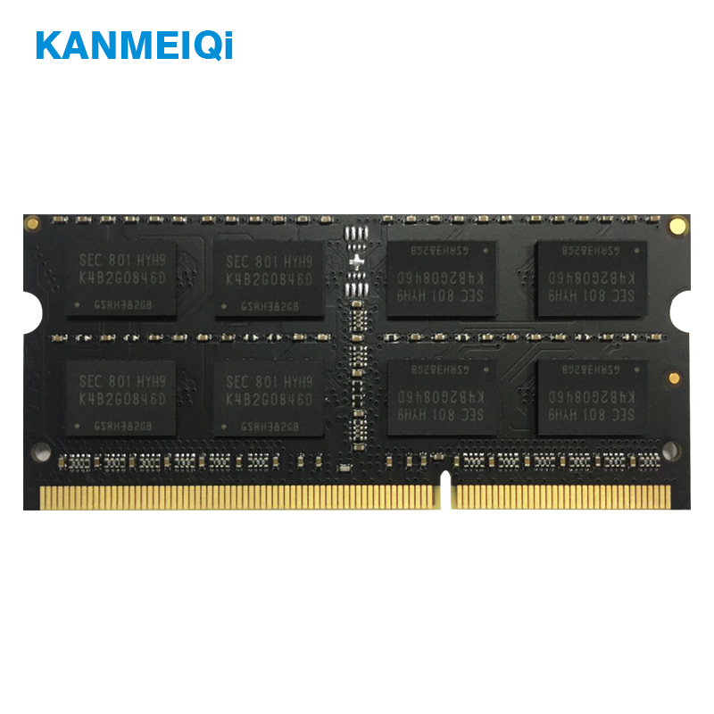 KANMEIQi DDR3 2GB/4GB/8GB Laptop Memory With Dual Channel Support 3