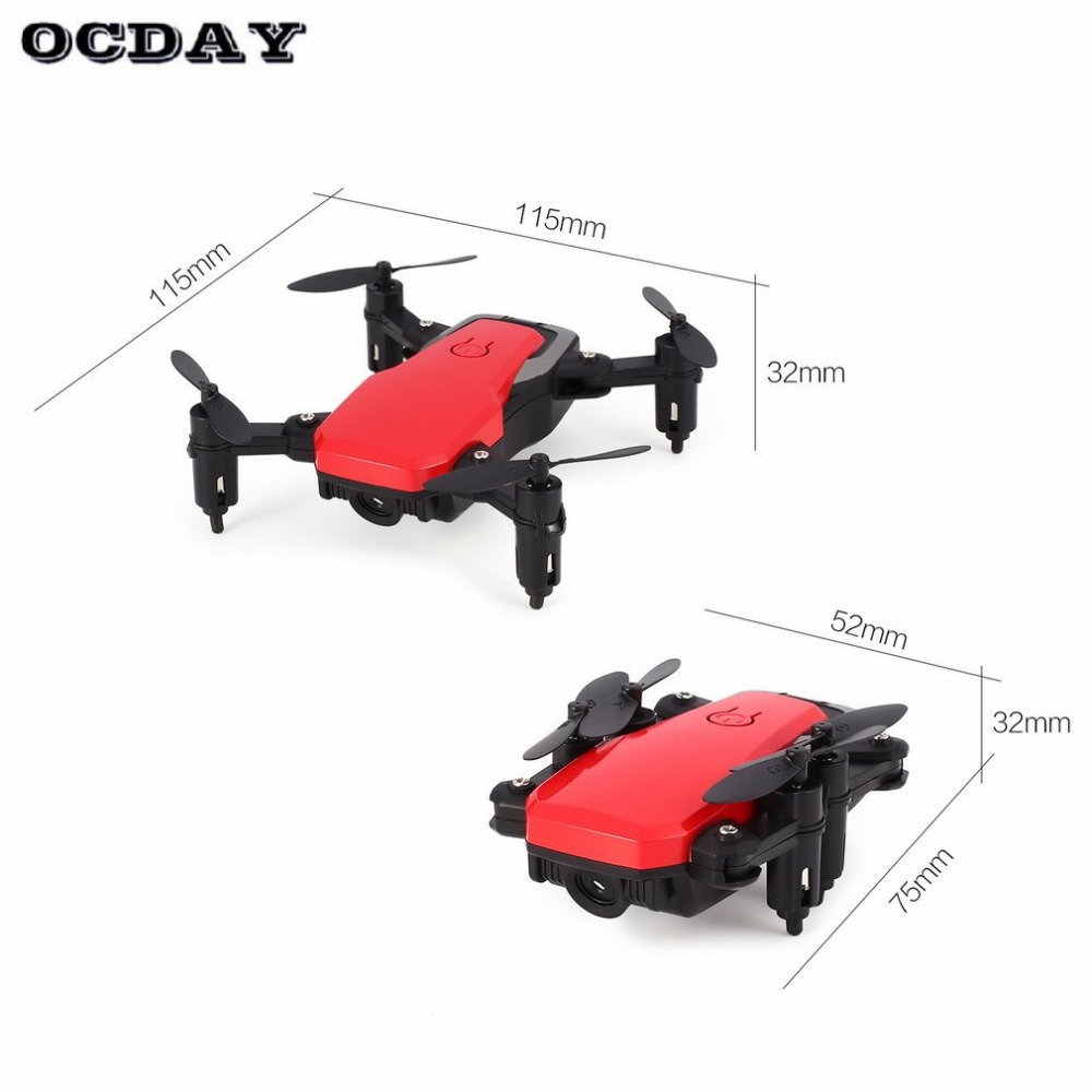 2019 SG800 Mini Pocket Foldable FPV Selfie RC Quadcopter Drone with Camera Real time Altitude Hold Headless Mode 3D Flip tz in RC Helicopters from Toys Hobbies