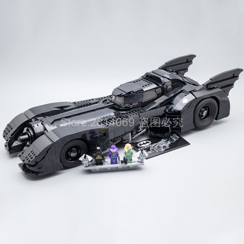 Presell 76139 Super Hero 1989 Batmobile Model 3856Pcs Building Kits Blocks Bricks Toys Children Gift Compatible 59005 Batman
