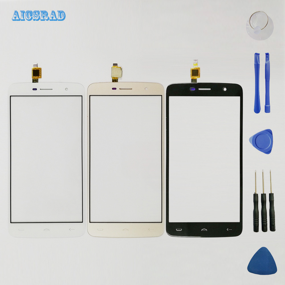 AICSRAD orginal 5.5inch Touch Sensor For HOMTOM HT17 HT 17 pro Touch Screen Front Glass Digitizer Panel Lens Touchscreen +tools(China)
