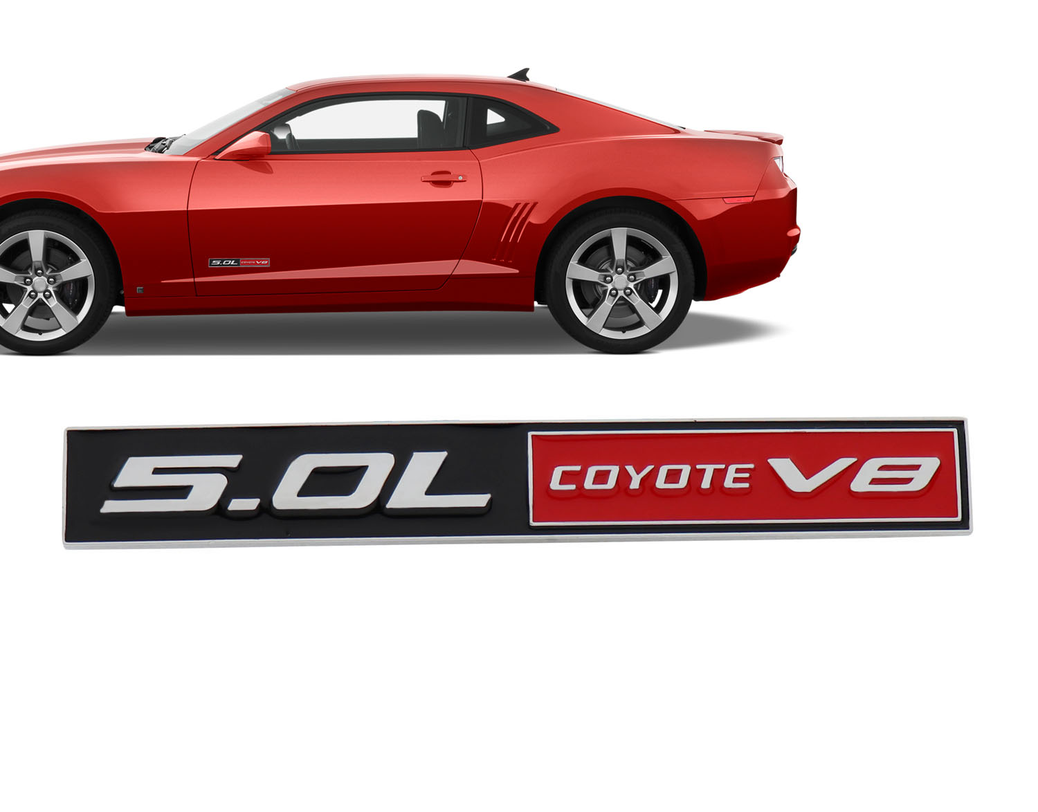 Ford Mustang//F150 5.0 Coyote Reflective Decal