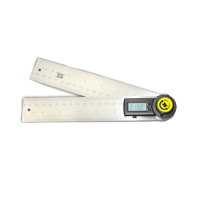 Persian Tool Stainless Steel Phone Body Two-in-One Digital Angle Ruler 200 Mm 300 Mm 500 Mm