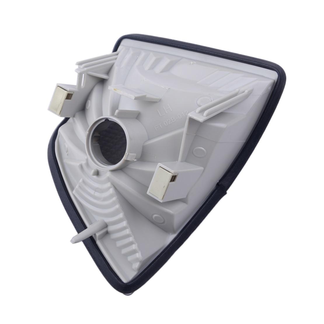 DWCX Left Corner Smoke Turn Signal Lights Lens Case Plastic Fit For BMW E36 3-Series 2DR Coupe Convertible 1992-1996 1997 1998