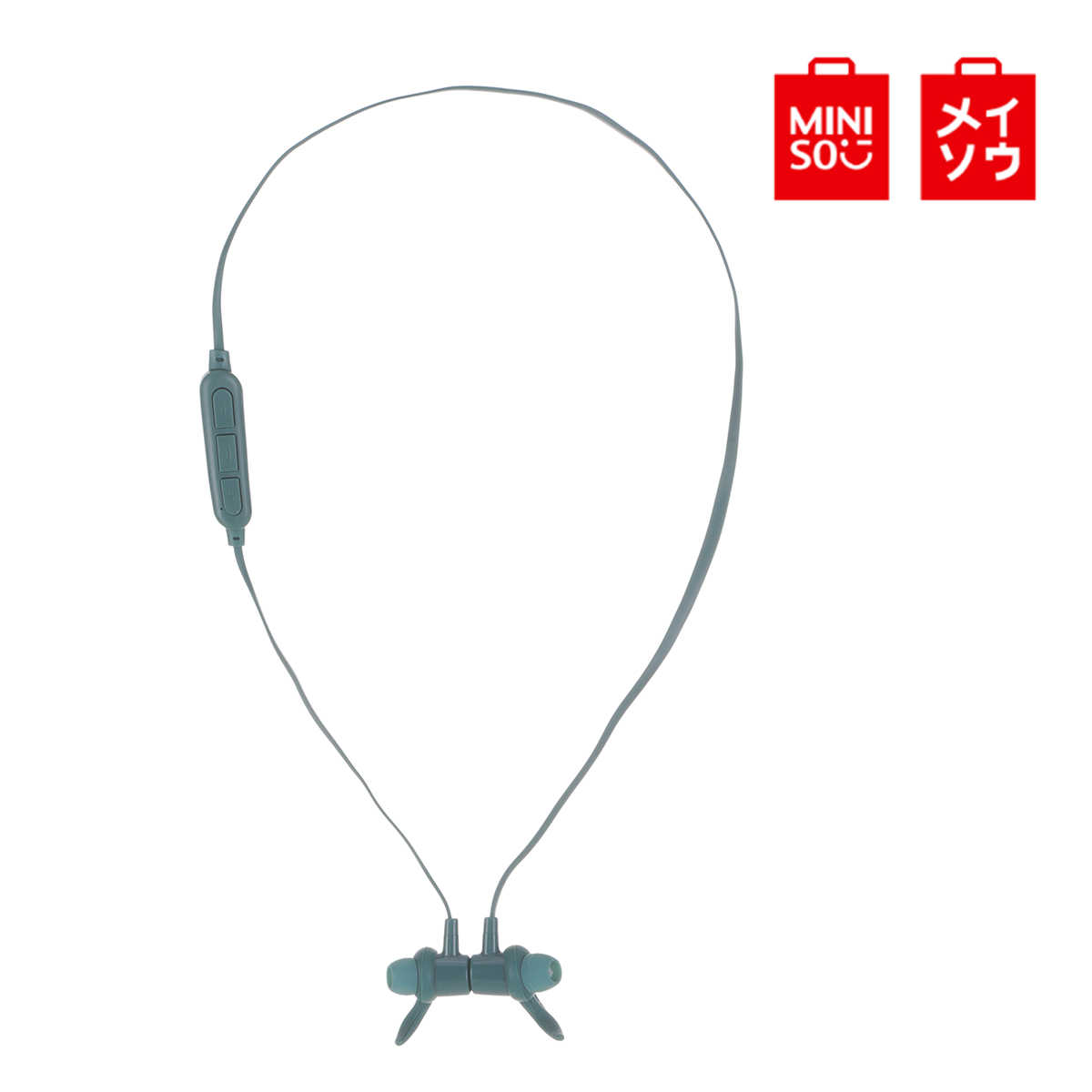 Miniso BT307 Magnetik Nirkabel Headphone Bluetooth Earphone Stereo Earphone Sport Headset Concision Style untuk Ponsel