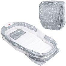 Новая детская кровать складной портативный многофункциональный с музыкой ночной мягкий удобный матрас для маленьких мальчиков и девочек