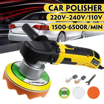 Dual Action Polishing Machine Car Polisher Electric Input Power 680w 1500-6500R Car Polisher Machine Polisher фото