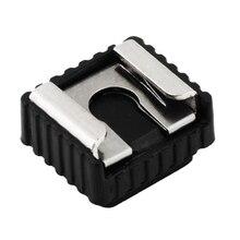 Hot-Shoe-Adapter Mounting-Flash Video-Camera Screw Metal Universal