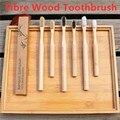 2020 neue Bambus Zahnbürste Holz Gesundheit Weiche Fibre Holz Holzkohle Draht Zahn Pinsel Umwelt Freundliche Zahnbürste