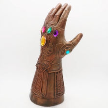 Marvel's The Avenger 3 Infinity War Bronze gants masques Vision Age Ultron fête masque fer homme Latex légendes Cosplay Thor hulk(China)