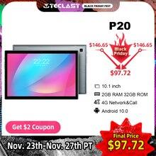 "Teclast החדש P20 10.1 ""אנדרואיד 10.0 Tablet 1280x800 IPS 2GB RAM 32GB ROM אוקטה Core 4G רשת AI מהירות למעלה הכפול המצלמה 6000mAh"