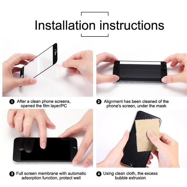Für Oppo A53 Glas Protectve Auf für Oppo A52 Glas Screen Protector Und Kamera Len Glas Oppo A53 A53 Schutz film HD Schwarz